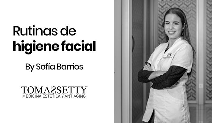 Rutinas de higiene facial