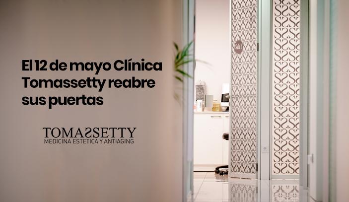 El 12 de mayo Clínica Tomassetty reabre sus puertas