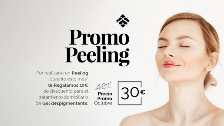 Promoción: Peeling + descuento tratamiento domiciliario de Gel Despigmentante