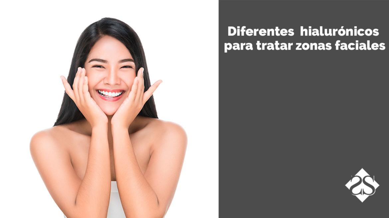 Diferentes tipos de ácidos hialurónicos y su uso en las zonas faciales